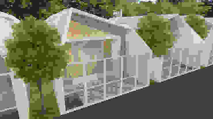 Eksterior Rumah Minimalis Oleh TIES Design & Build Minimalis