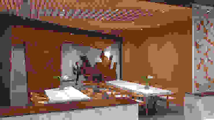 Meeting Table Ruang Komersial Modern Oleh TIES Design & Build Modern