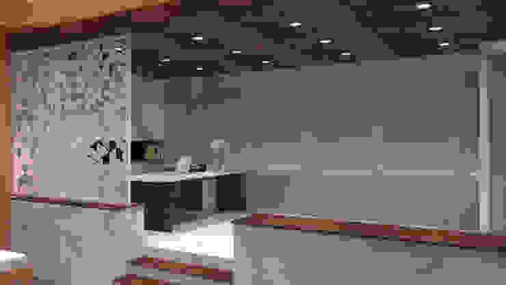 Director's Table Ruang Komersial Modern Oleh TIES Design & Build Modern