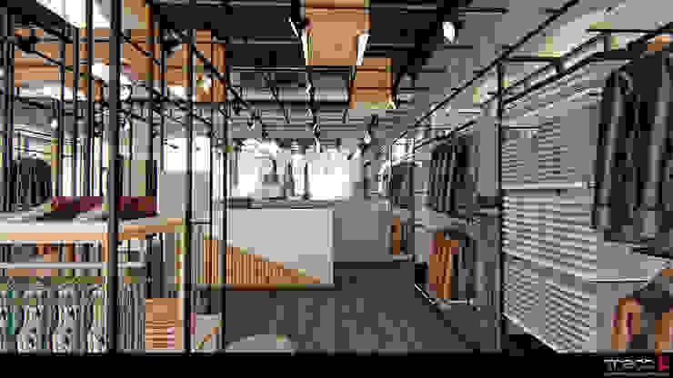 Locaux commerciaux & Magasin modernes par Traço M - Arquitectura Moderne