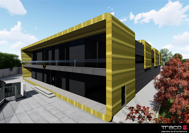 Modern Houses by Traço M - Arquitectura Modern Copper/Bronze/Brass