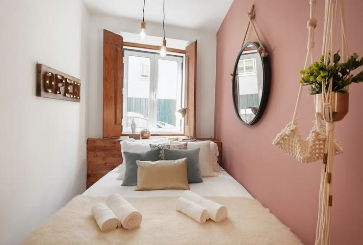 Rafaela Fraga Brás Design de Interiores & Homestyling Chambre originale Bois Effet bois