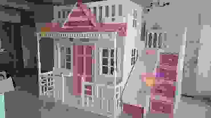Preciosa Casita Celestial de camas y literas infantiles kids world Moderno Derivados de madera Transparente