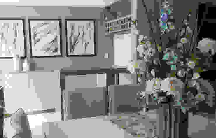 Espacio M Modern Dining Room Wood Grey
