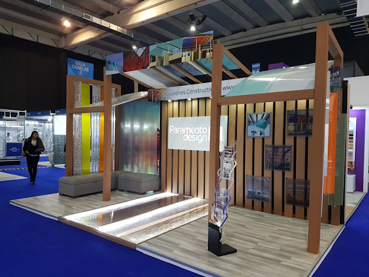 Paramento Design en Expo Edifica 2017 B+2 Oficinas y tiendas