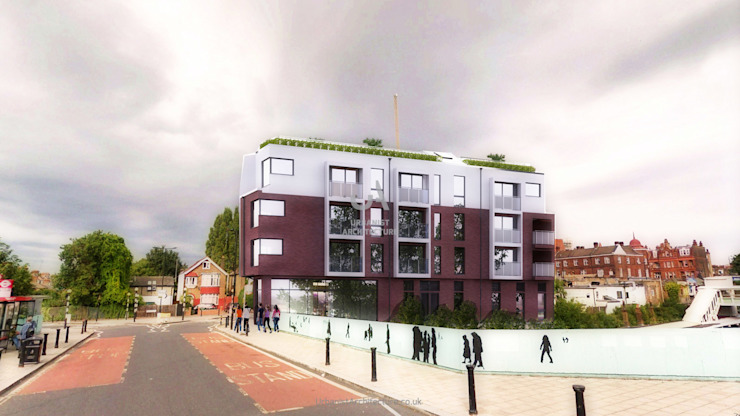 Local redevelopment Urbanist Architecture Multi-Family house