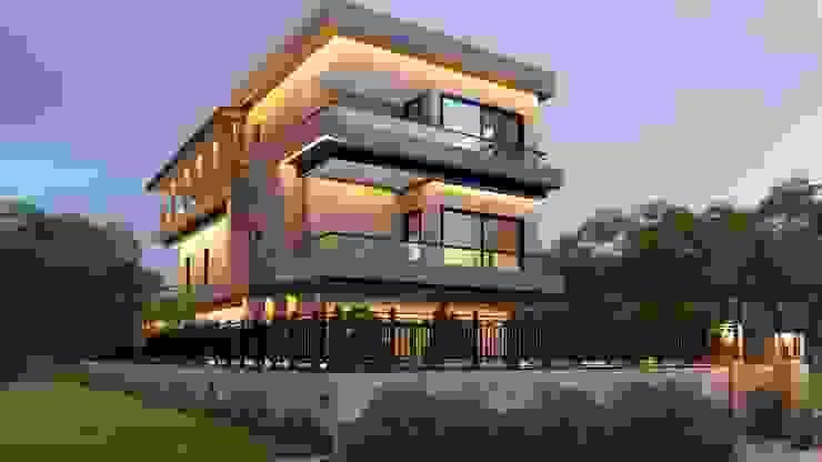 ARSUZ VİLLA Modern Evler CULHA MÜHENDİSLİK- MİMARLIK Modern