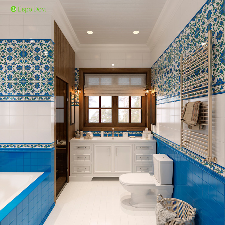 Classic style bathroom by ЕвроДом Classic