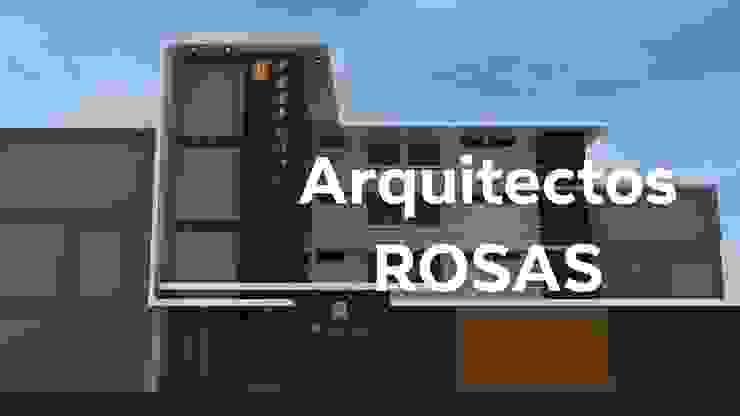 Giardino d'inverno minimalista di Crearq-Arquitecto C.ROSAS Minimalista Vetro