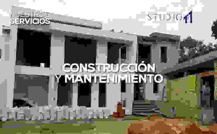Construcción y Mantenimiento de Studio 1:1 Arquitectura Moderno