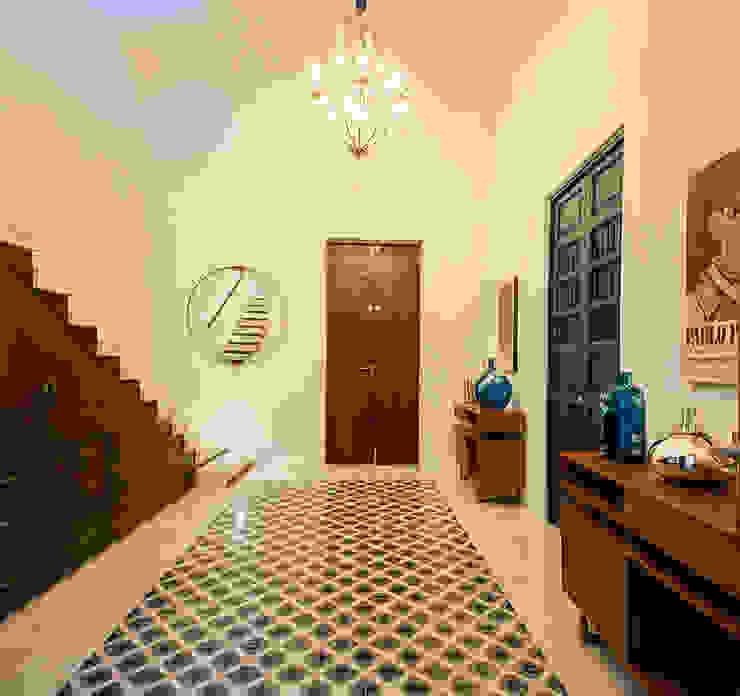 Koridor & Tangga Modern Oleh Taller Estilo Arquitectura Modern Beton