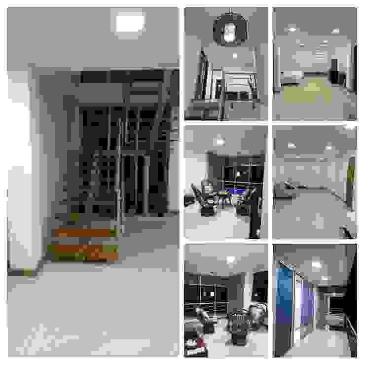 Diseño y construcción vivienda campestre en Santagueda, Caldas de Ariah Constructora Moderno