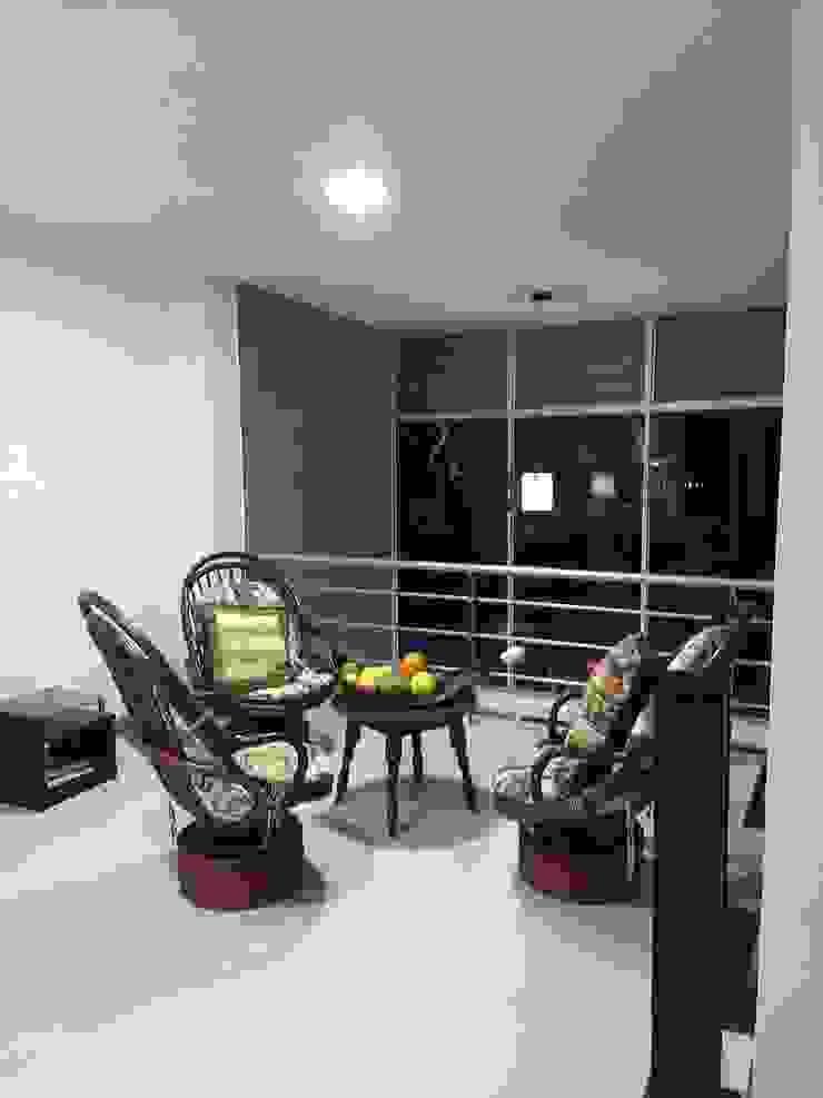 Diseño y construcción vivienda campestre en Santagueda, Caldas Salas modernas de Ariah Constructora Moderno