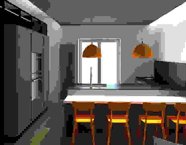 PENISOLA: Cucina attrezzata in stile  di G&S INTERIOR DESIGN, Moderno