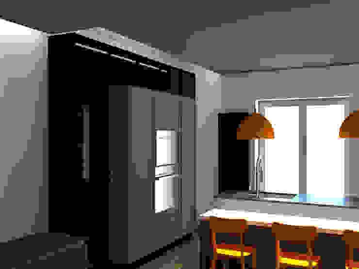 COLONNE CUCINA: Cucina attrezzata in stile  di G&S INTERIOR DESIGN, Moderno