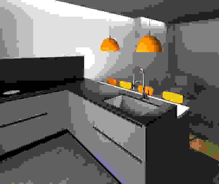 INTERNO CUCINA: Cucina attrezzata in stile  di G&S INTERIOR DESIGN, Moderno