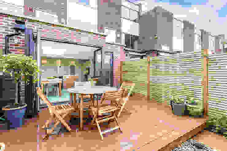 Elverson Road SE13 Lewisham Architect designed house extension de GOAStudio | London residential architecture Moderno Ladrillos