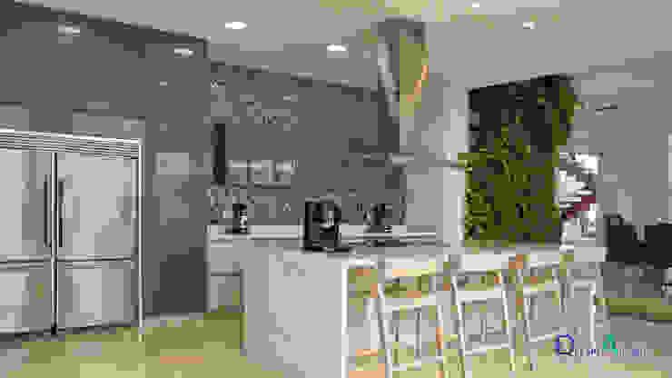 Cocina Naturaleza y Modernidad. Cocinas modernas de Decoralvarez Moderno Aglomerado