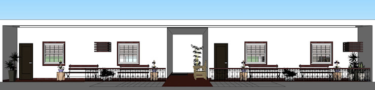 RENOVATION OF 2 STOREY APARTMENT by MKC DESIGN