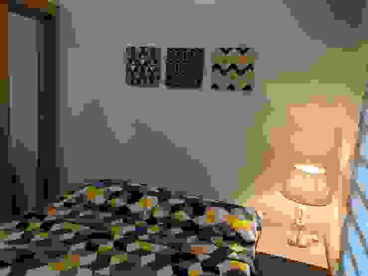 INTERIOR DESIGN OF 1 BEDROOM CONDOMINIUM UNIT Modern style bedroom by MKC DESIGN Modern