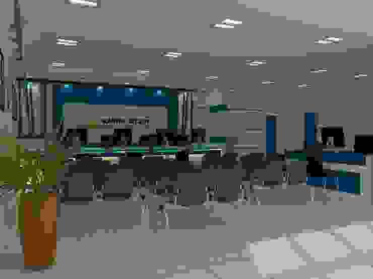 Interior KANWIL DIRJEN PEBENDAHARAAN, Jayapura Oleh khairulmahfudz Architect Interior Minimalis