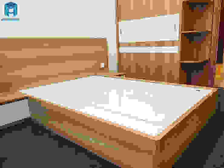 Designer Phòng ngủ phong cách hiện đại bởi Công ty TNHH Nội Thất Mạnh Hệ Hiện đại MDF