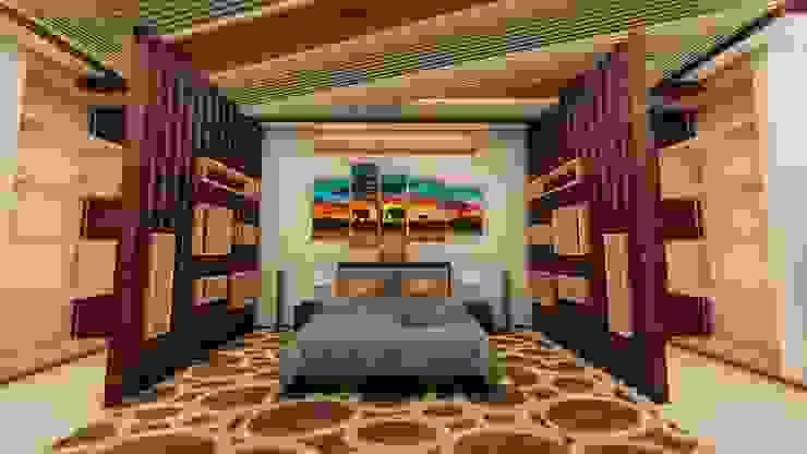 Area de la cama de Arquitecto Gustavo Moreno