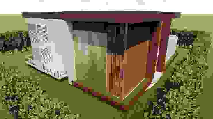 propuesta de muro verde en fachada de Arquitecto Gustavo Moreno
