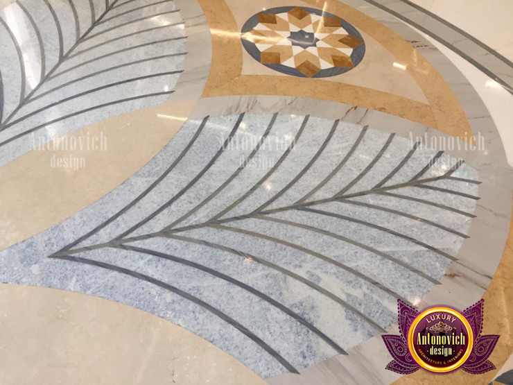 Top Beautiful Marble Designs for Interior by Luxury Antonovich Design