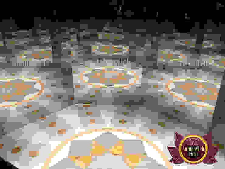 Very Creative Marble Flooring by Luxury Antonovich Design