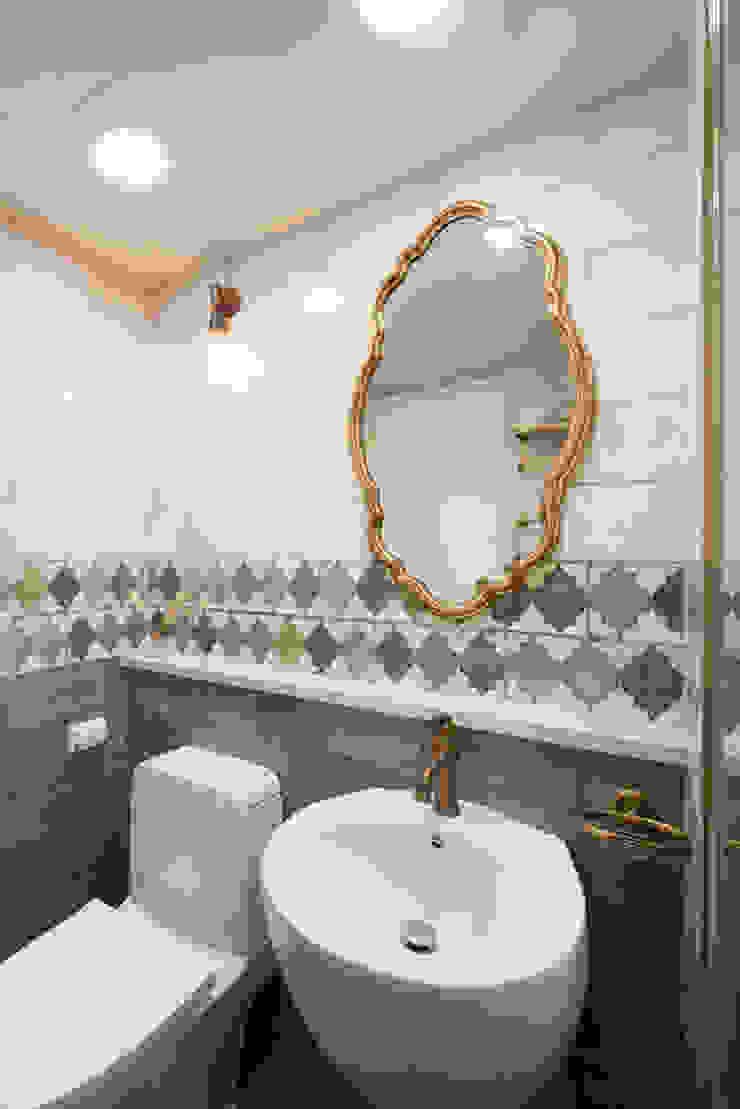 용인 수지구 대우 푸르지오 클래식스타일 욕실 by BK Design Studio 클래식