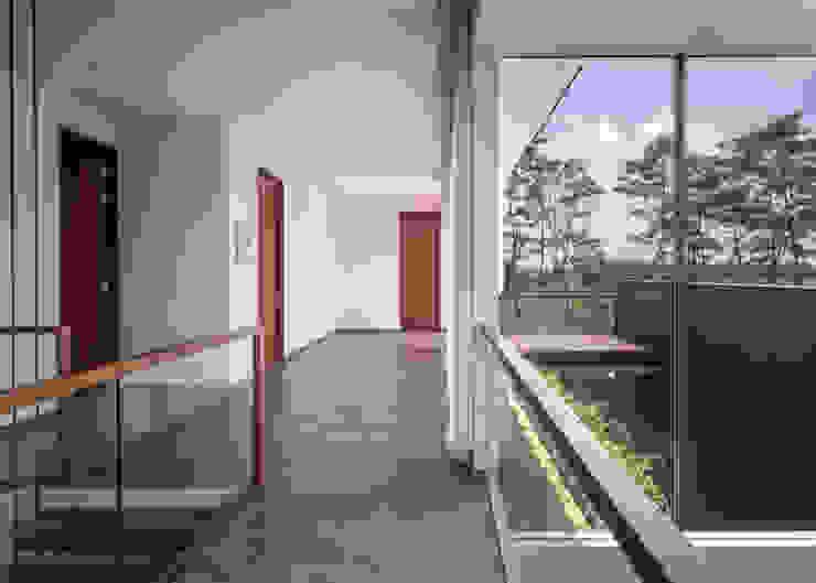 Rakta Studio モダンスタイルの 玄関&廊下&階段