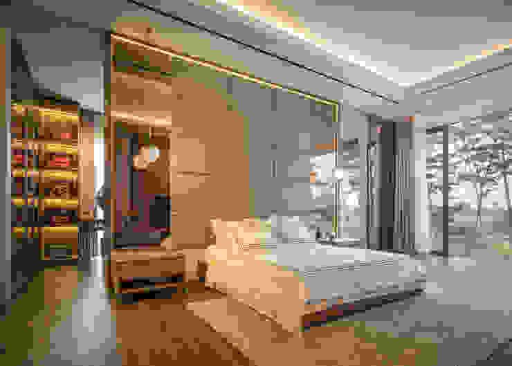 Rakta Studio Phòng ngủ phong cách hiện đại