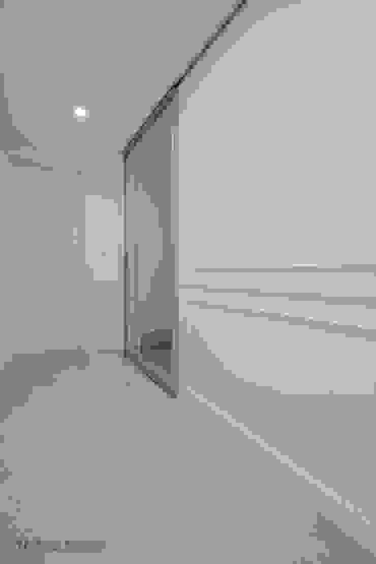 동탄인테리어 by.n디자인인테리어 모던스타일 복도, 현관 & 계단 by N디자인 인테리어 모던