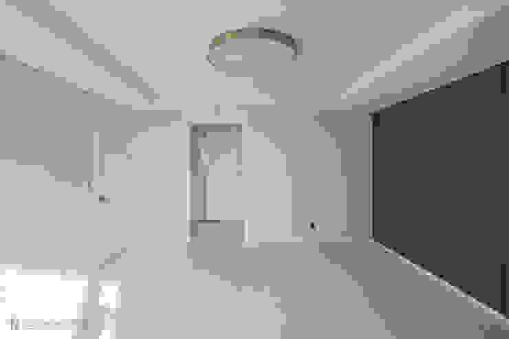 동탄인테리어 메타폴리스 40평대 주상복합 아파트인테리어 by.n디자인인테리어 모던스타일 미디어 룸 by N디자인 인테리어 모던