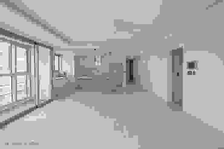 동탄메타폴리스 인테리어 50평대 주상복합 아파트인테리어 by.n디자인인테리어 에클레틱 거실 by N디자인 인테리어 에클레틱 (Eclectic)