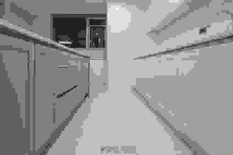 동탄메타폴리스 인테리어 50평대 주상복합 아파트인테리어 by.n디자인인테리어 에클레틱 주방 by N디자인 인테리어 에클레틱 (Eclectic)