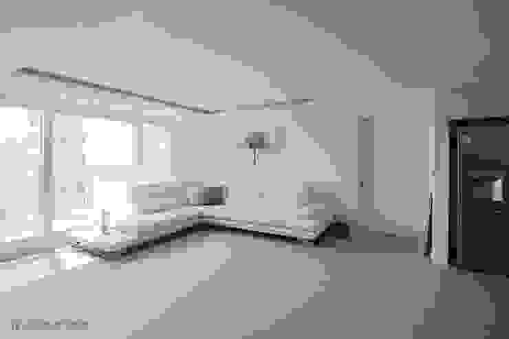 동탄2 더샵 레이크 에듀타운 포스코3차 아파트 인테리어 by.n디자인인테리어 에클레틱 거실 by N디자인 인테리어 에클레틱 (Eclectic)