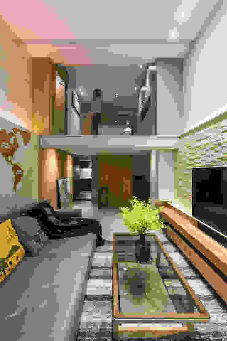 竹村空間 Zhucun Design Ruang Keluarga Modern