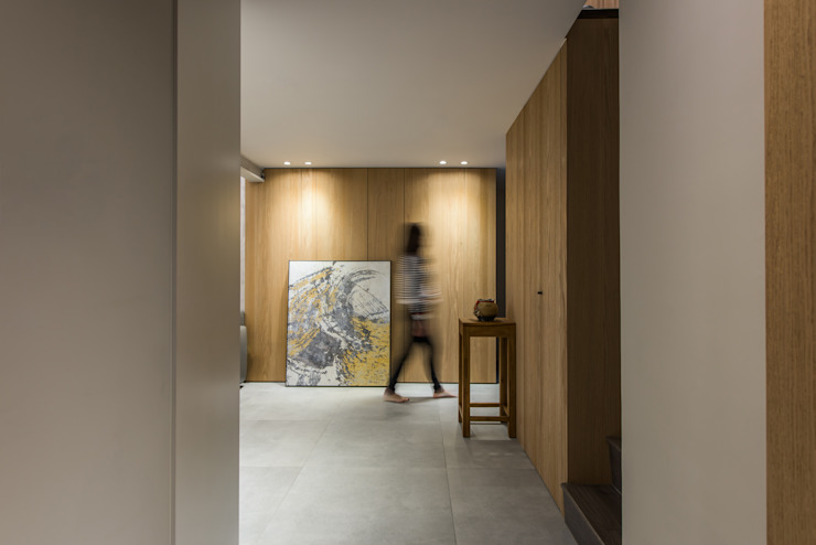 竹村空間 Zhucun Design Koridor & Tangga Modern