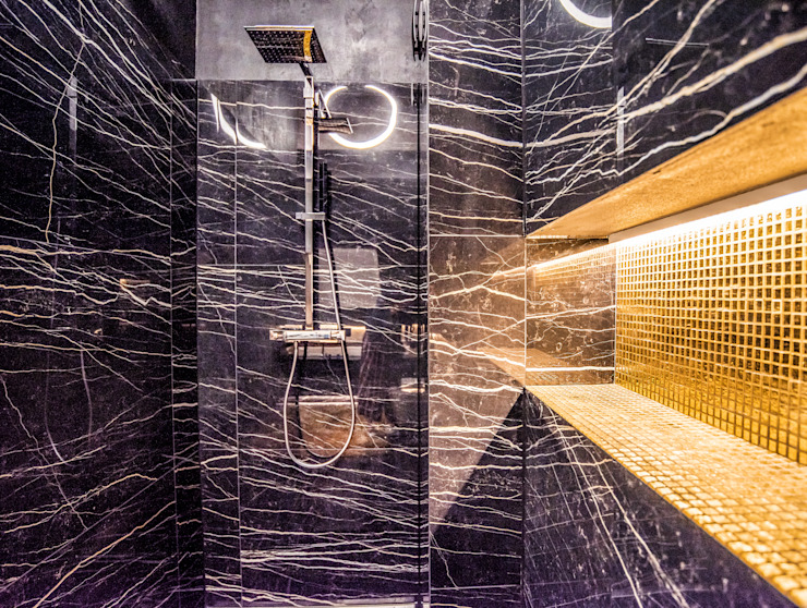 Exklusive Lichtplanung einer Designer Wohnung Moderne Badezimmer von Moreno Licht mit Effekt - Lichtplaner Modern
