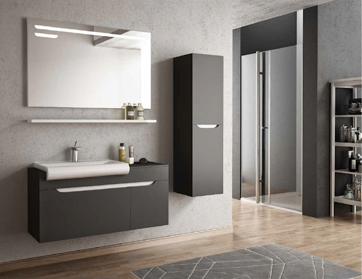 MAESTA BATHROOM FURNITURE – arco 110 cm: modern tarz , Modern