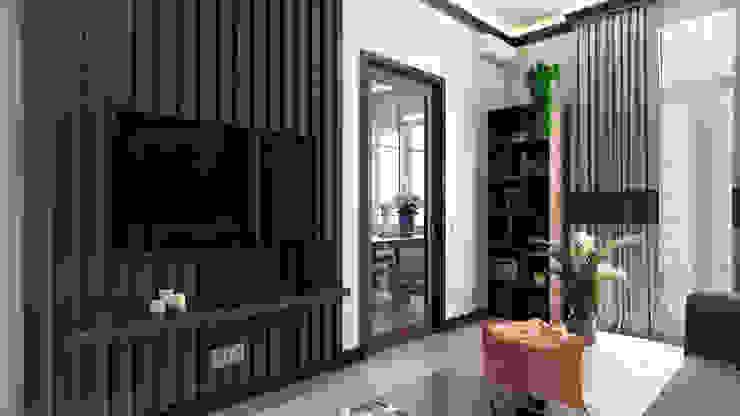 Salas de estilo minimalista de Zibellino.Design Minimalista