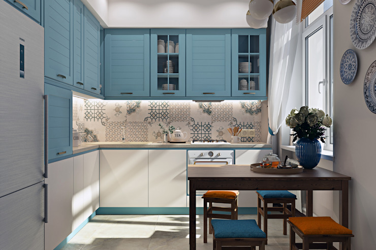 Small kitchens by Zibellino.Design
