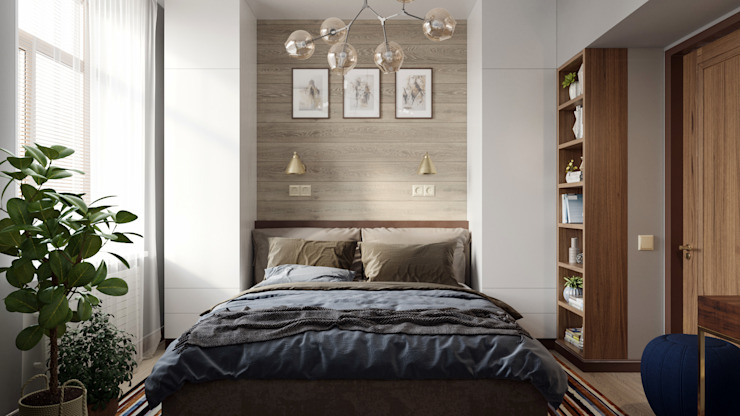 Cuartos de estilo minimalista de Zibellino.Design Minimalista
