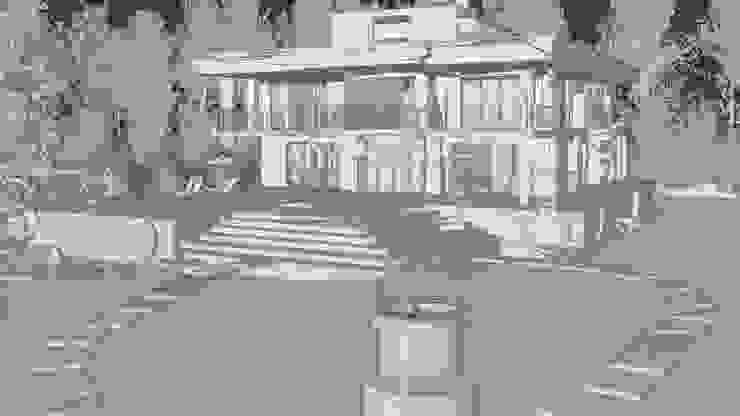 Villa con giardino Alessandro Chessa Case moderne