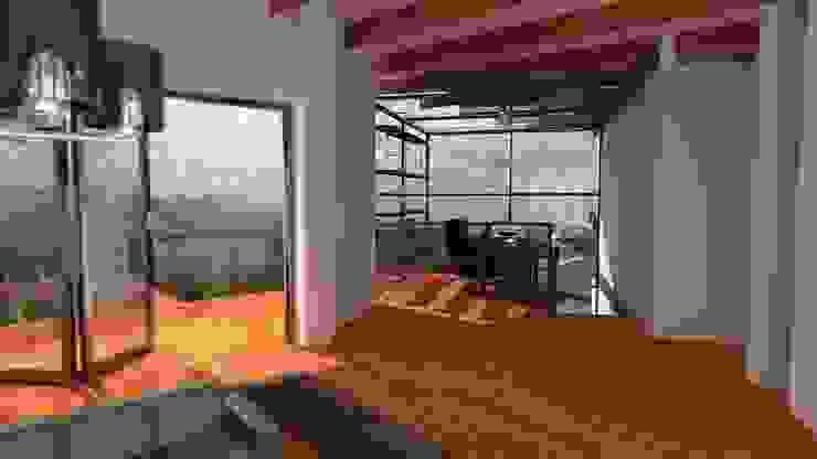 Casa Ocampo Estudios y despachos de estilo moderno de Dima Arquitectos s.a.s Moderno
