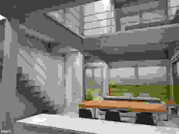 Summa - Soluções em Arquitetura Sala da pranzo minimalista