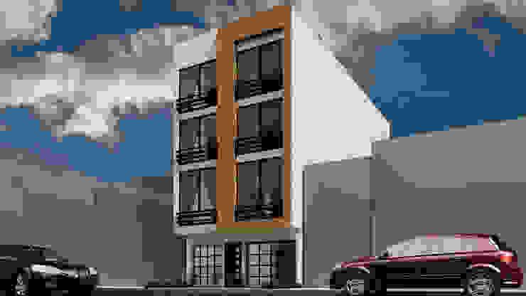 現代房屋設計點子、靈感 & 圖片 根據 Dima Arquitectos s.a.s 現代風