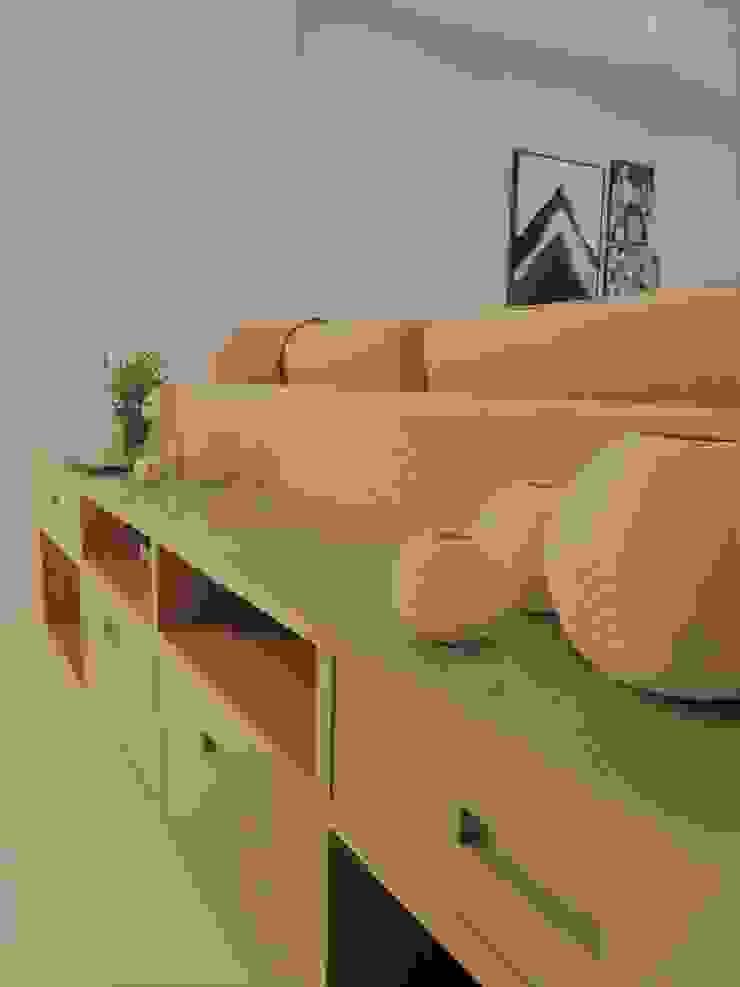 Decoração e funcionalidade Izabella Biancardine Interiores Salas de estar modernas